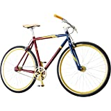 Captain Marvel Single-Speed Fixie Style Bike by Schwinn, Featuring 58cm/Large Steel Stand-Over Frame with 700C Wheels…