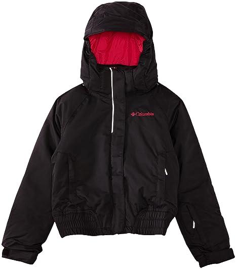 Columbia WG2073 - Chaqueta de esquí para hombre, color negro, talla XS
