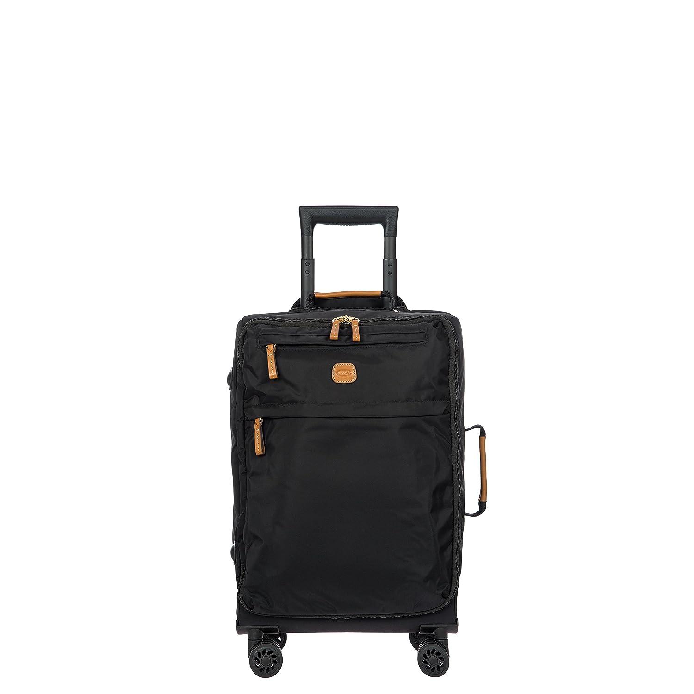 Nero Schwarz 55 cm Brics X-travel Laptop Rollkoffer