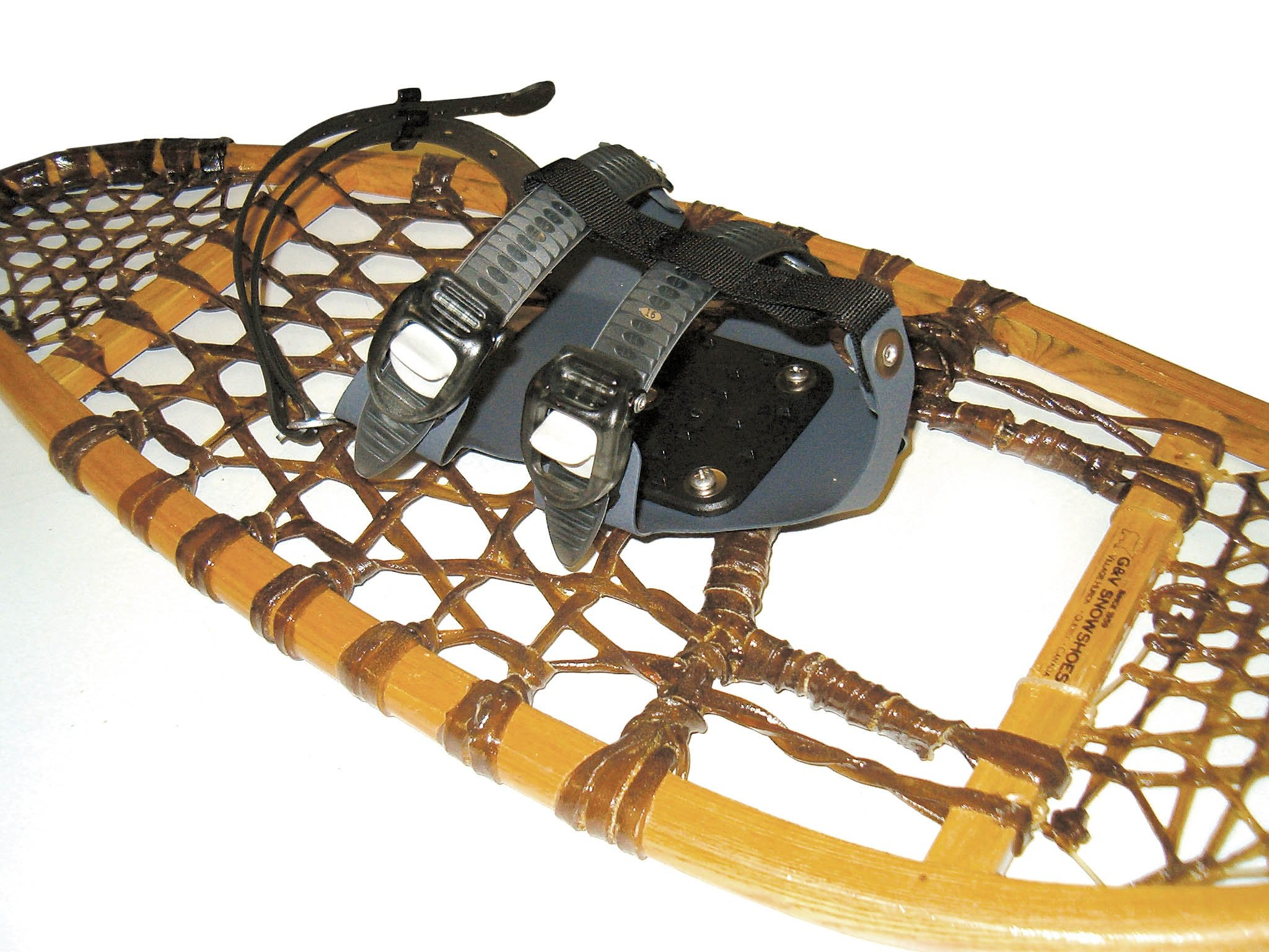 GV Snowshoes Ratchet Technology Snowshoe Bindings, Colors may vary by GV Snowshoes