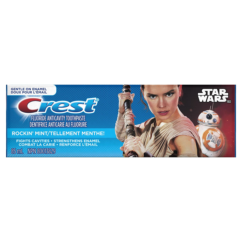 Crest Kids Toothpaste Featuring Disneys Star Wars, 85 ml