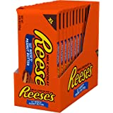 REESE'S Milk Chocolate filled with REESE'S Peanut Butter Extra Large Candy, Valentine's Day, 4.25 Oz. Bars (12 count)