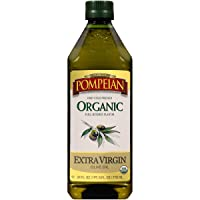 Pompeian USDA Organic Extra Virgin Olive Oil, First Cold Pressed, Full-Bodied Flavor...