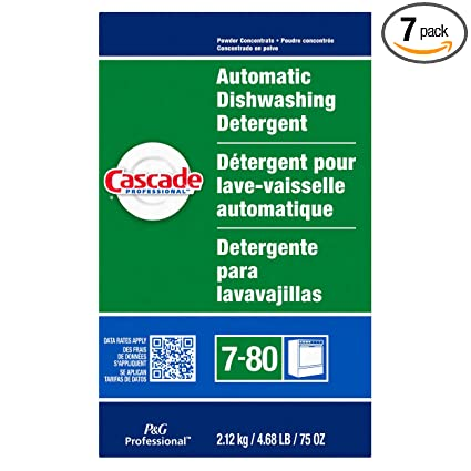 Amazon.com: Cascade Professional Fresh Scent Powder, 75 ...