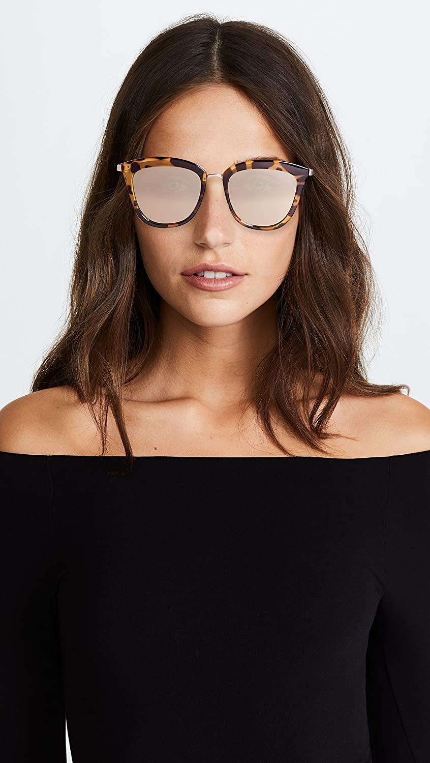 3c7842fd69 Le Specs LSP1702140 Syrup Tort Syrup Tort Caliente Cats Eyes Sunglasses  Lens Ca  Le Specs  Amazon.co.uk  Clothing