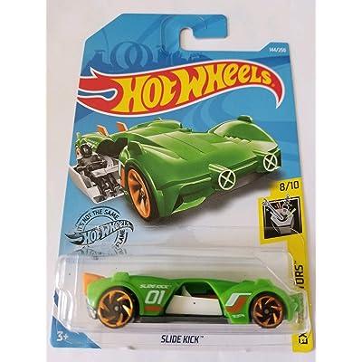 Hot Wheels 2020 Experimotors - Slide Kick, Green 144/250: Toys & Games