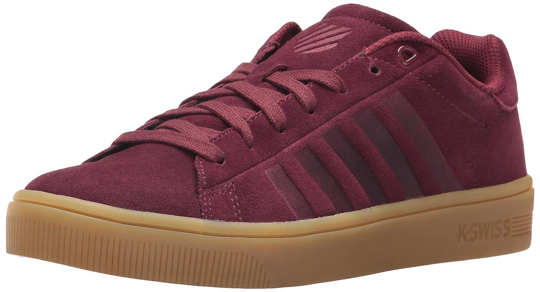 K-Swiss Women's Court Frasco SDE Sneaker B071VVHSQL 6.5 B(M) US|Burgundy/Gum