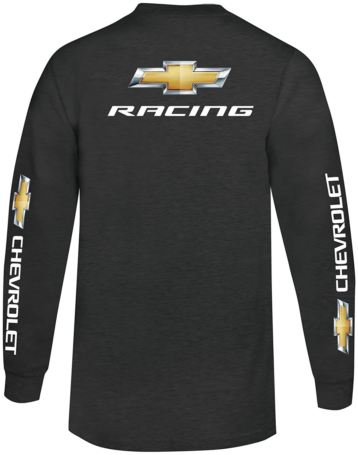 Amazon Mens Chevy Racing Long Sleeve T Shirtlargecharcoal