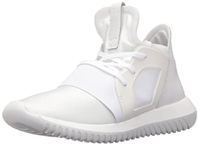 new concept 48903 66a76 adidas Originals Women s Tubular Defiant Fashion Running Shoe, Core White Black,  5 B