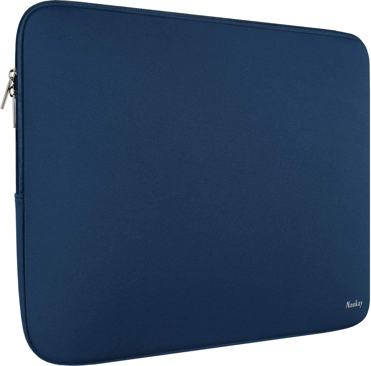 Laptop Sleeve Case 15.6 Inch,Resistant Neoprene Laptop Sleeve/Notebook Computer Pocket Case/Tablet Briefcase Carrying Bag - Dark Blue