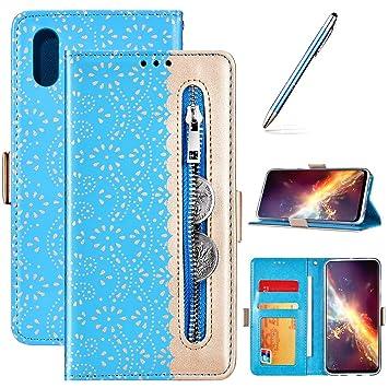 Robinsoni Fundas Compatible con Samsung Galaxy A20 Funda ...