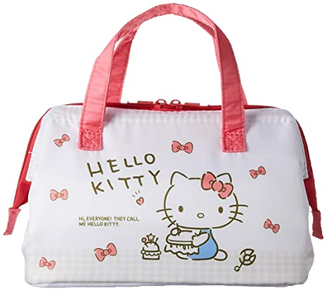 5ba4485e307 Image Unavailable. Image not available for. Color  Sanrio Hello Kitty  Cooler lunch bag ...