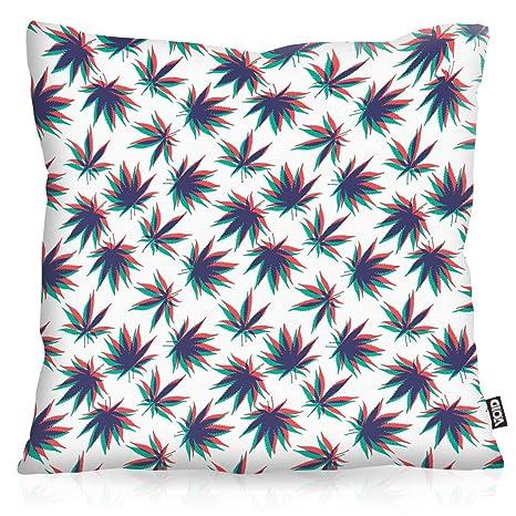 VOID Cannabis Stereo Cojín con Dibujo Funda de cojín Funda ...