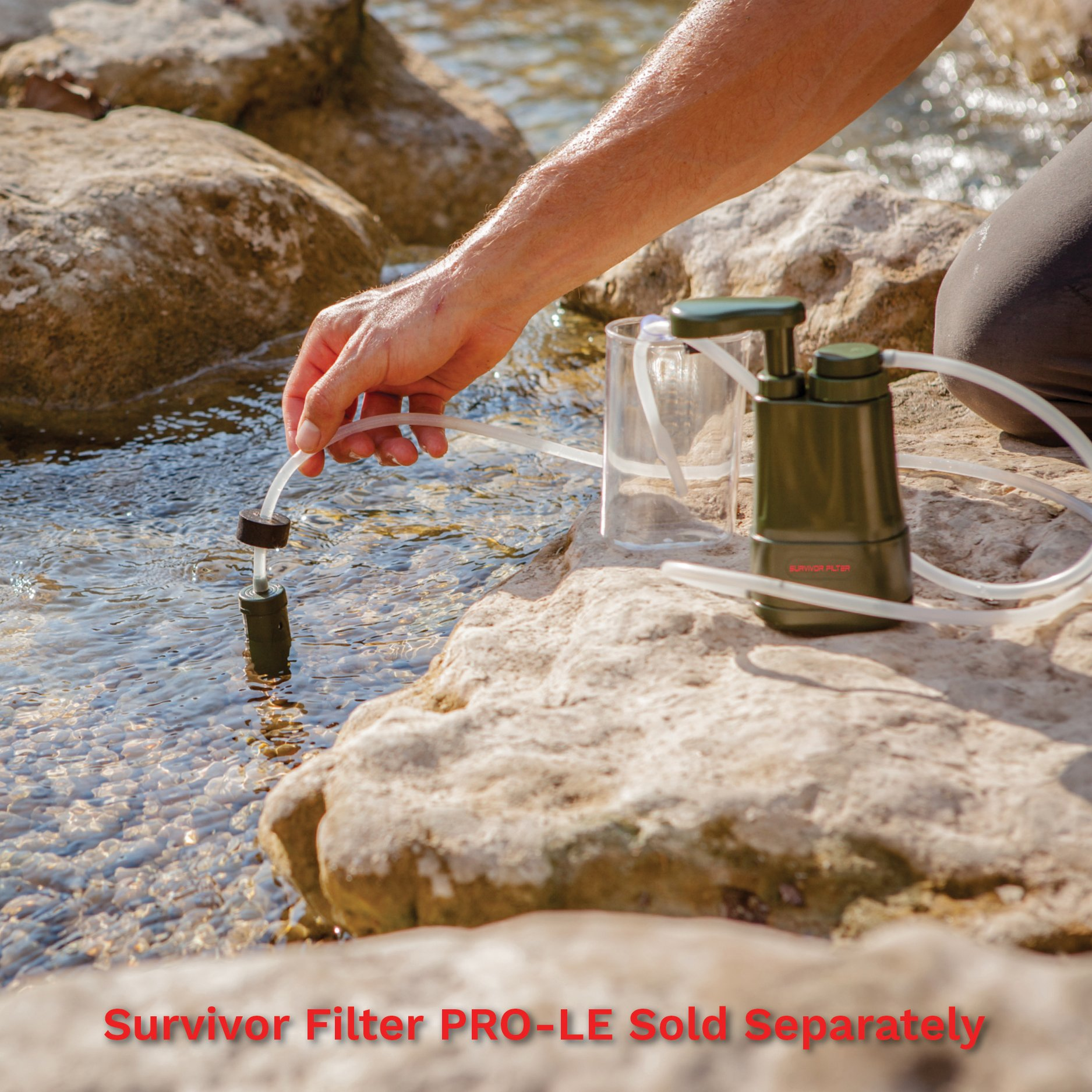 Survivor Filter Extra Replacement Filters for The PRO Portable Water Filter (Extra Pre-Filter Kit) by Survivor Filter (Image #5)