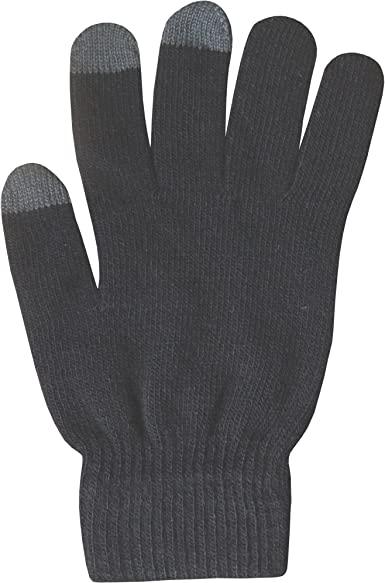 3 Pairs Kids Touch Screen Gloves Stretch Soft Winter Smartphone One Size