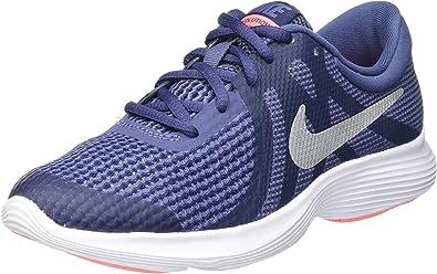 entregar minusválido al revés  NIKE Revolution 4 (GS), Zapatillas de Atletismo Mujer: Amazon.es: Zapatos y  complementos