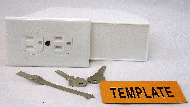 Amazon.com: Hidden Wall Safe - Diversion Safe - Outlet Safe - Stash ...
