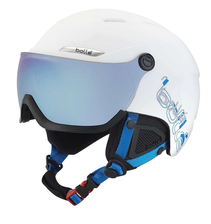 Bollé Casco de esquí B de yond Visor White Grey Blue –cm
