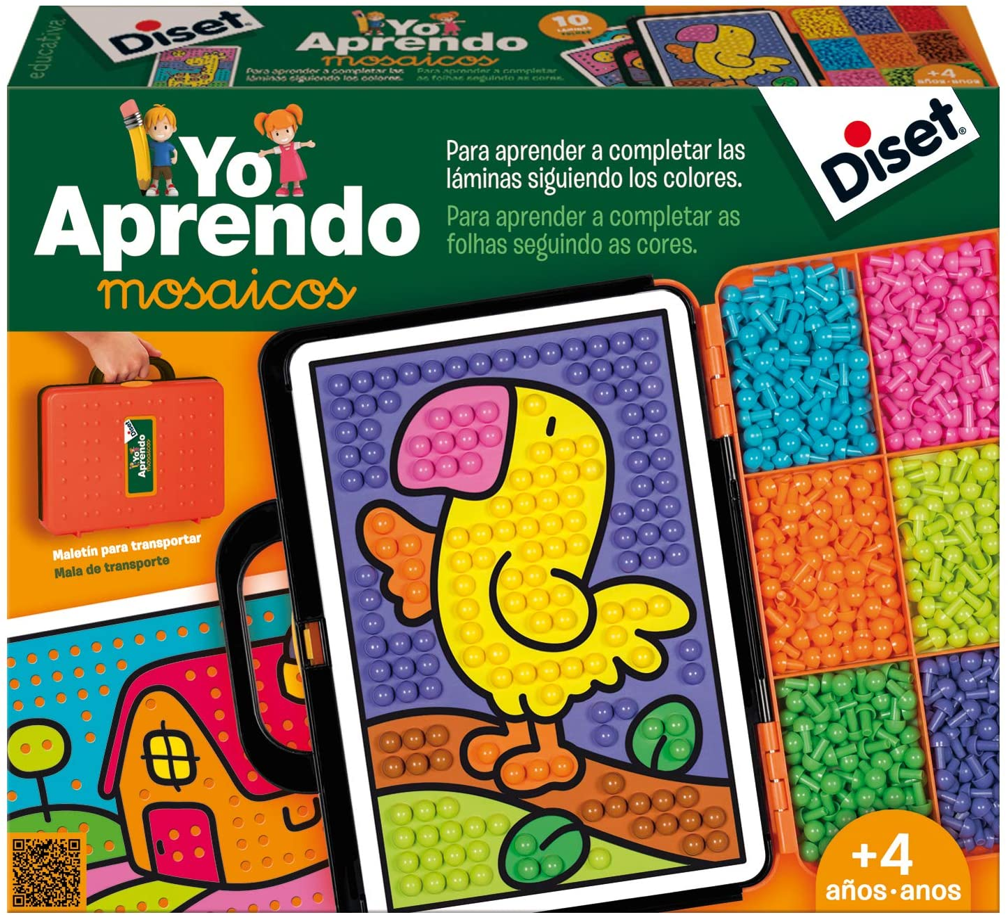 Diset - Yo Aprendo Mosaicos, Juguete Educativo (63758)