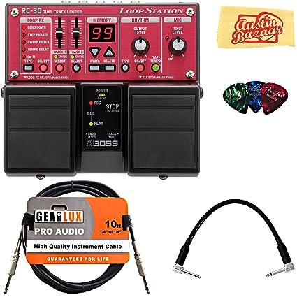 amazon com boss rc 30 loop station bundle with instrument cable rh amazon com boss rc 30 manual español boss rc 30 manual pdf