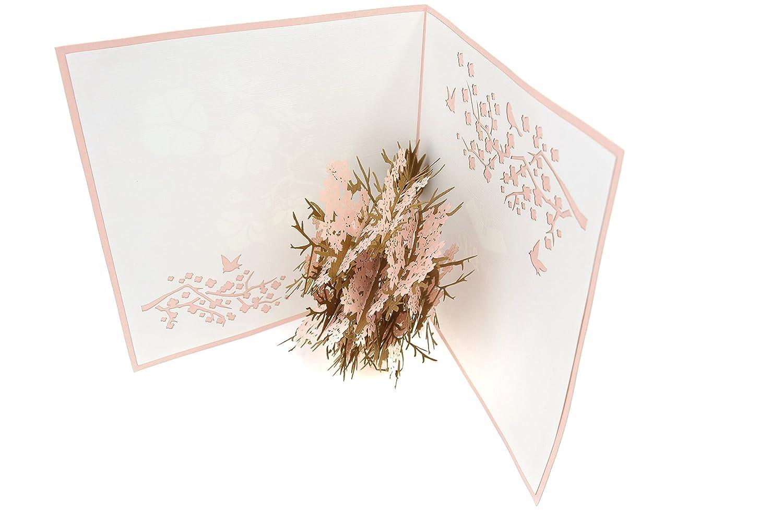 joyeux anniversaire sympathie carte de f se rétablissent remise des diplômes anniversaire PopLife Cards Cherry blossom fête des mères popup carte pour toutes les occasions pour la fête des mères