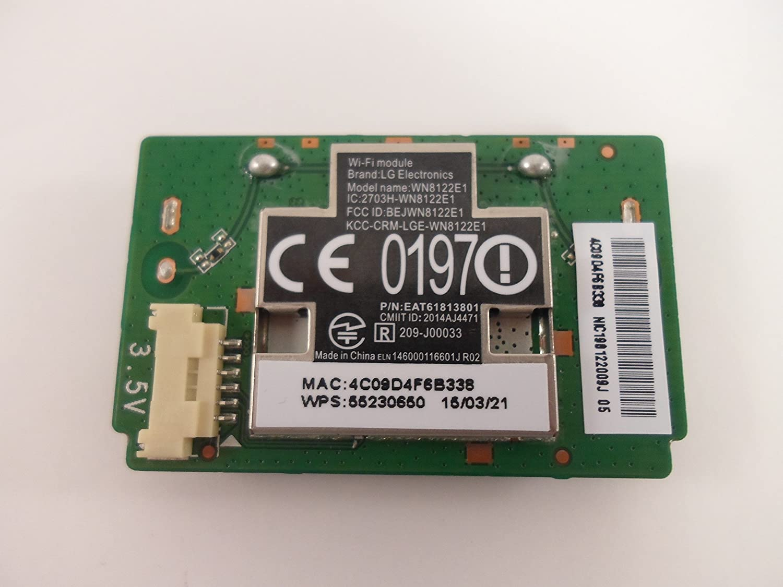 topone LG 55LN5700 UH Wi Fi Memoria eat61813801 wn8122e1: Amazon.es: Electrónica
