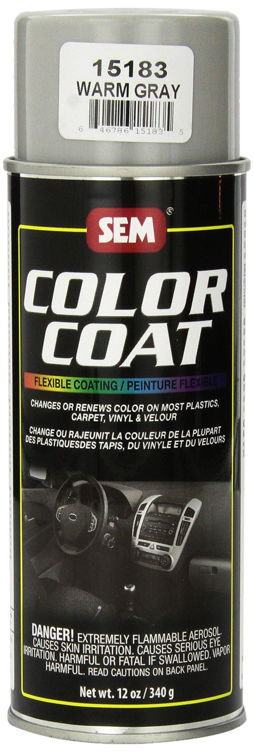 SEM 15183 Warm Gray Color Coat - 12 oz..