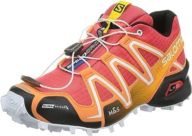 Salomon Speedcross 3 CS W Zapatillas de trail running 4,5 papaya: Amazon.es: Zapatos y complementos