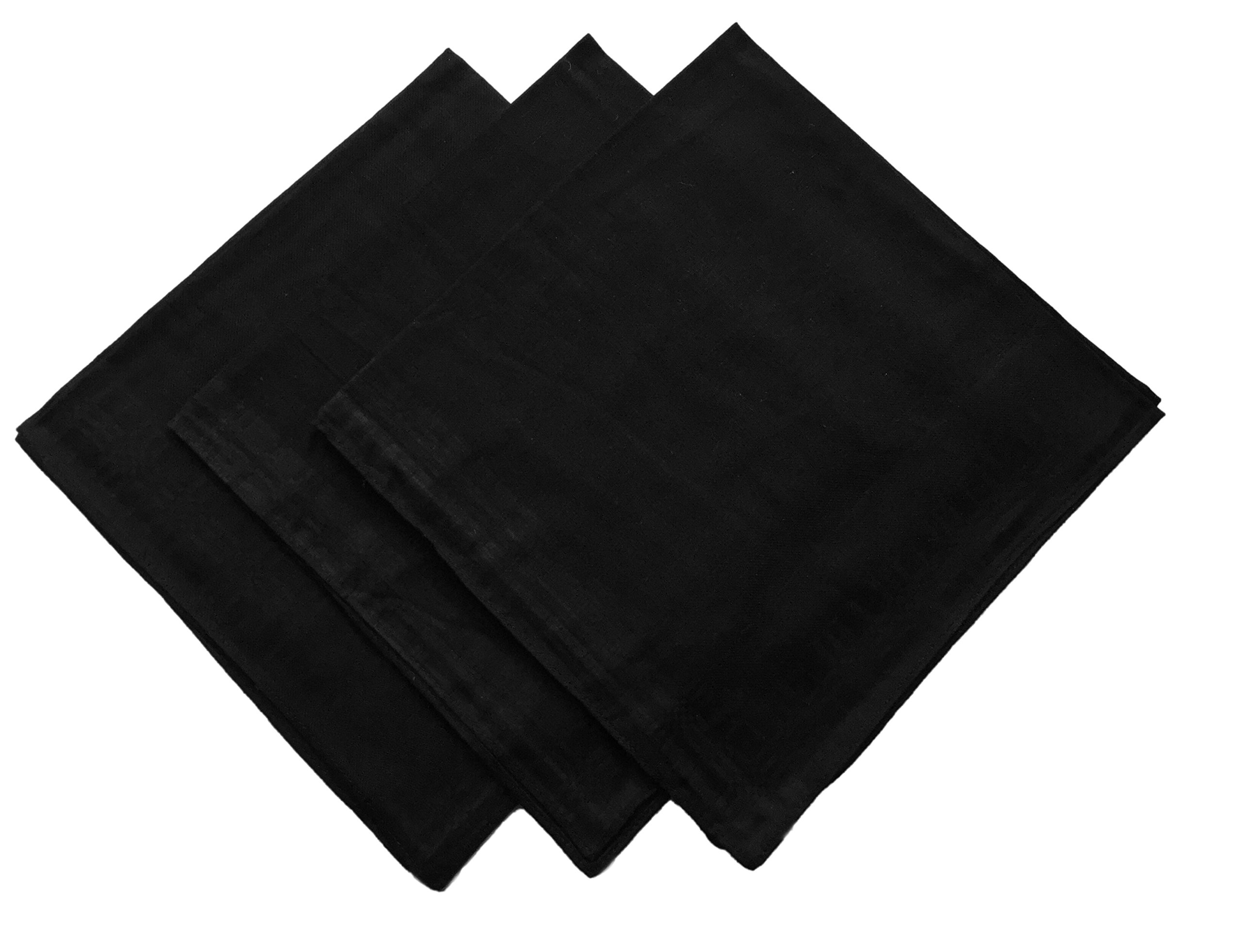 KINGDESON Men's Elegent Checkered Cotton Hankie Hankerchiefs gift set ((B)19.99(6PCS))
