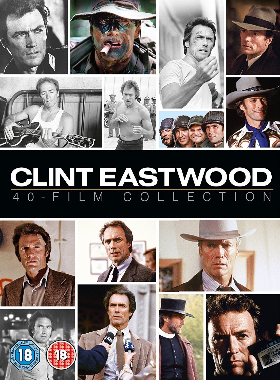 Clint Eastwood - 40 Film Collection Edizione: Regno Unito Reino ...