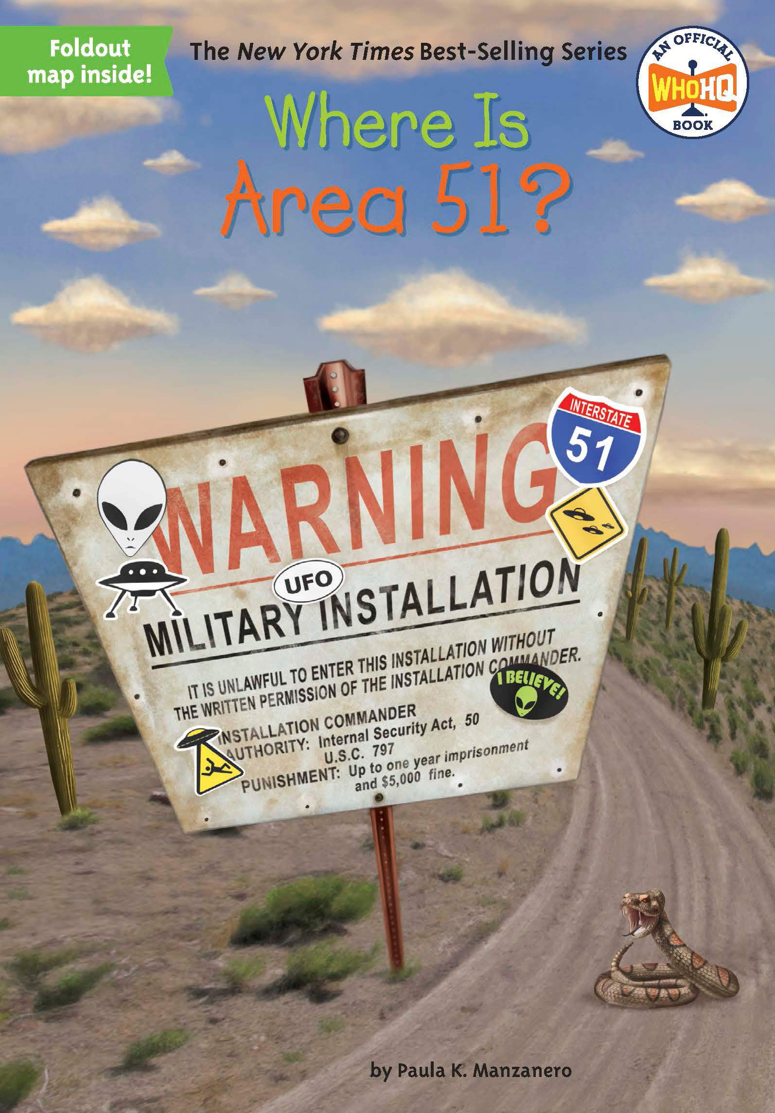 Where Is Area 51