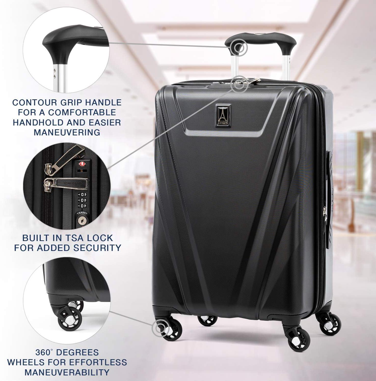 Azure Blue Travelpro Maxlite 5-Hardside Spinner Wheel Luggage
