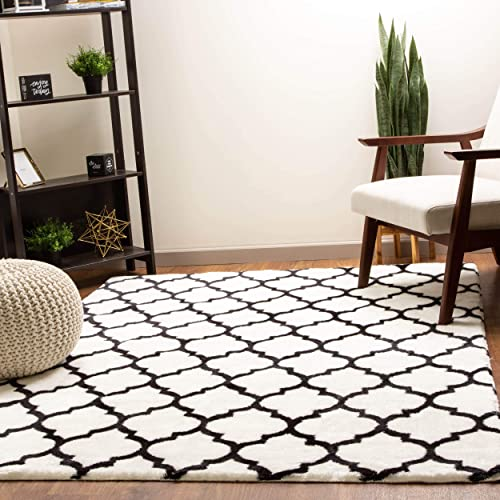 Super Area Rugs Soft Faux Rabbit Fur Washable Morrocan Trellis Rug Rug