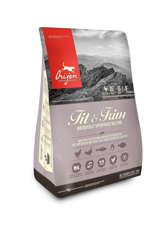 4.5 lb Orijen FIT * Trim Dry Dog Food 4.5 lb.