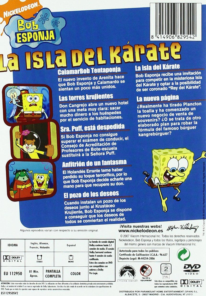 Amazon.com: Bob Esponja: La Isla Del Kárate (Import Movie) (European Format - Zone 2) (2007) Stephen Hillenburg: Movies & TV