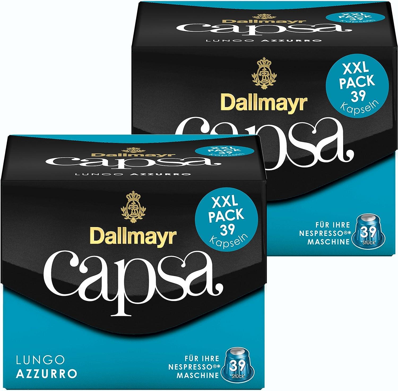 Dallmayr 39 Cápsulas de café para cafetera Nespresso Capsa, Lungo ...