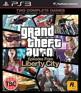 Kết quả hình ảnh cho Grand Theft Auto Episodes from Liberty City cover ps3