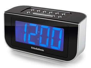 AudioSonic CL-1475 - Radio (Reloj, Digital, FM, PLL, 4