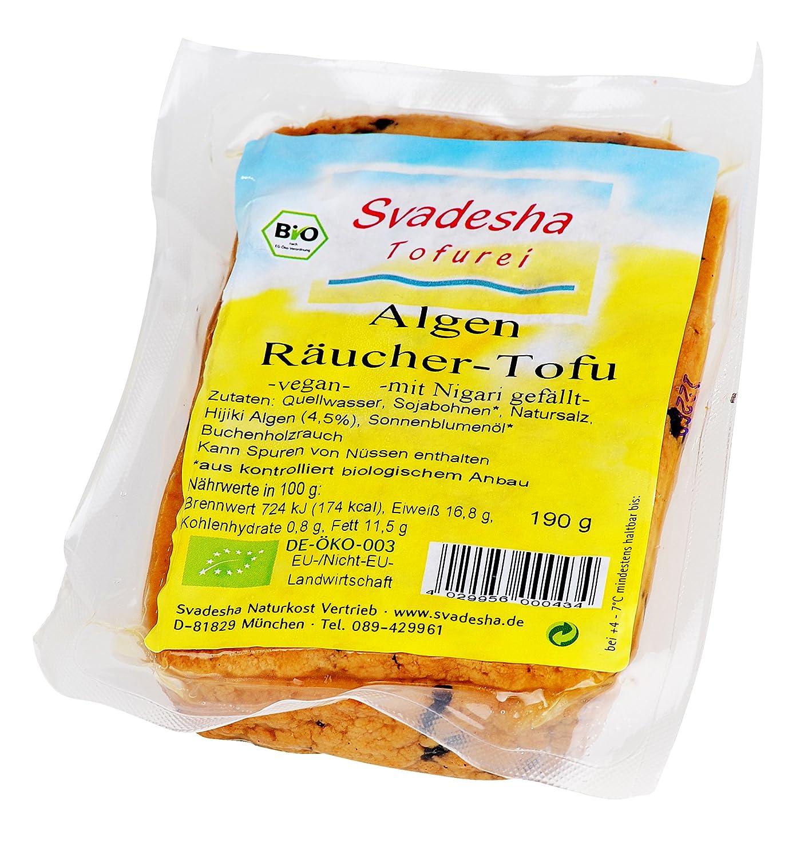 Einzigartig Tofu Nährwerte Beste Wahl Svadesha Algen - Räucher -tofu 190 Gr: