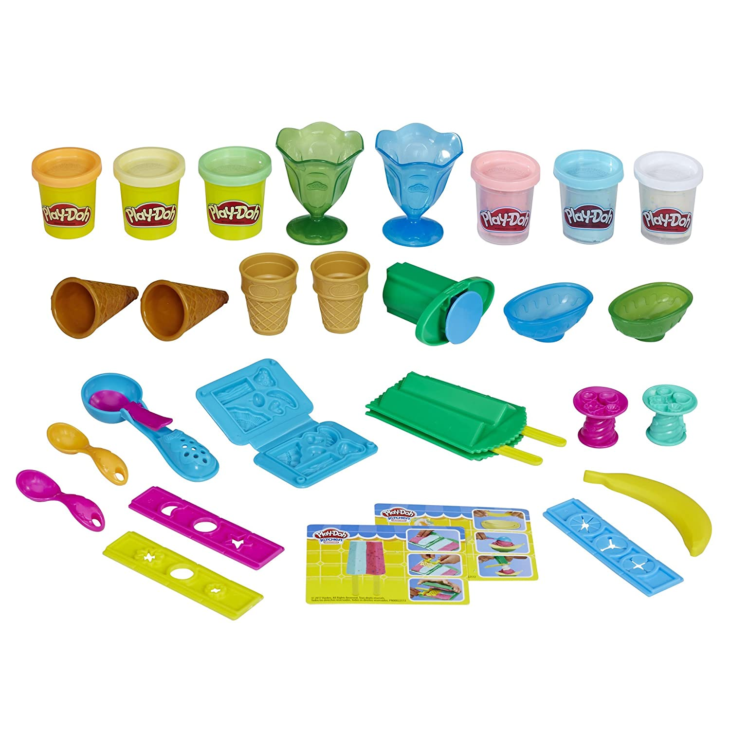 Play-Doh Ice Cream Party Dough Art (Amazon Exclusive)