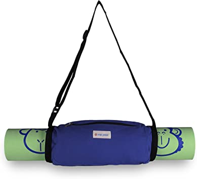 Yogi Junior Yoga Mat Carrier | Large Outside Zip Pocket