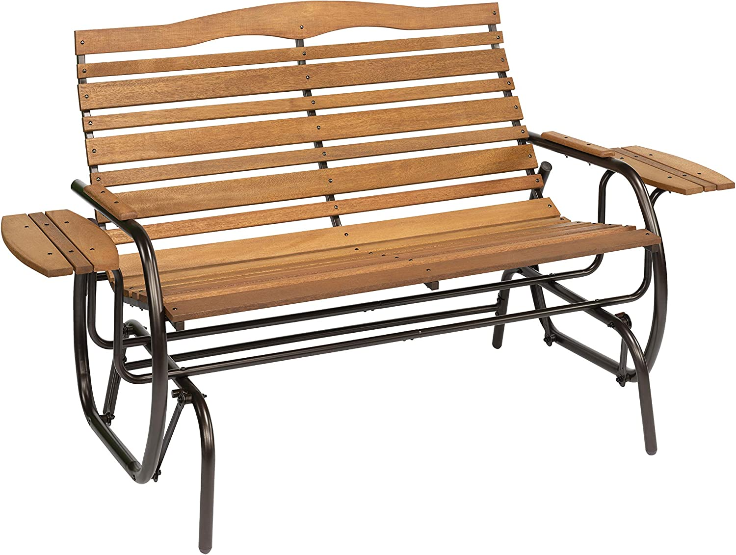 Woodlawn&Home Hardwood Glider with Trays, 300020