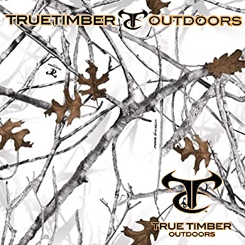 Amazon Com True Timber Conceal Snow Winter Camo Hydrographic Water