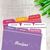 Jot & Mark Recipe Card Dividers   24 Tabs per