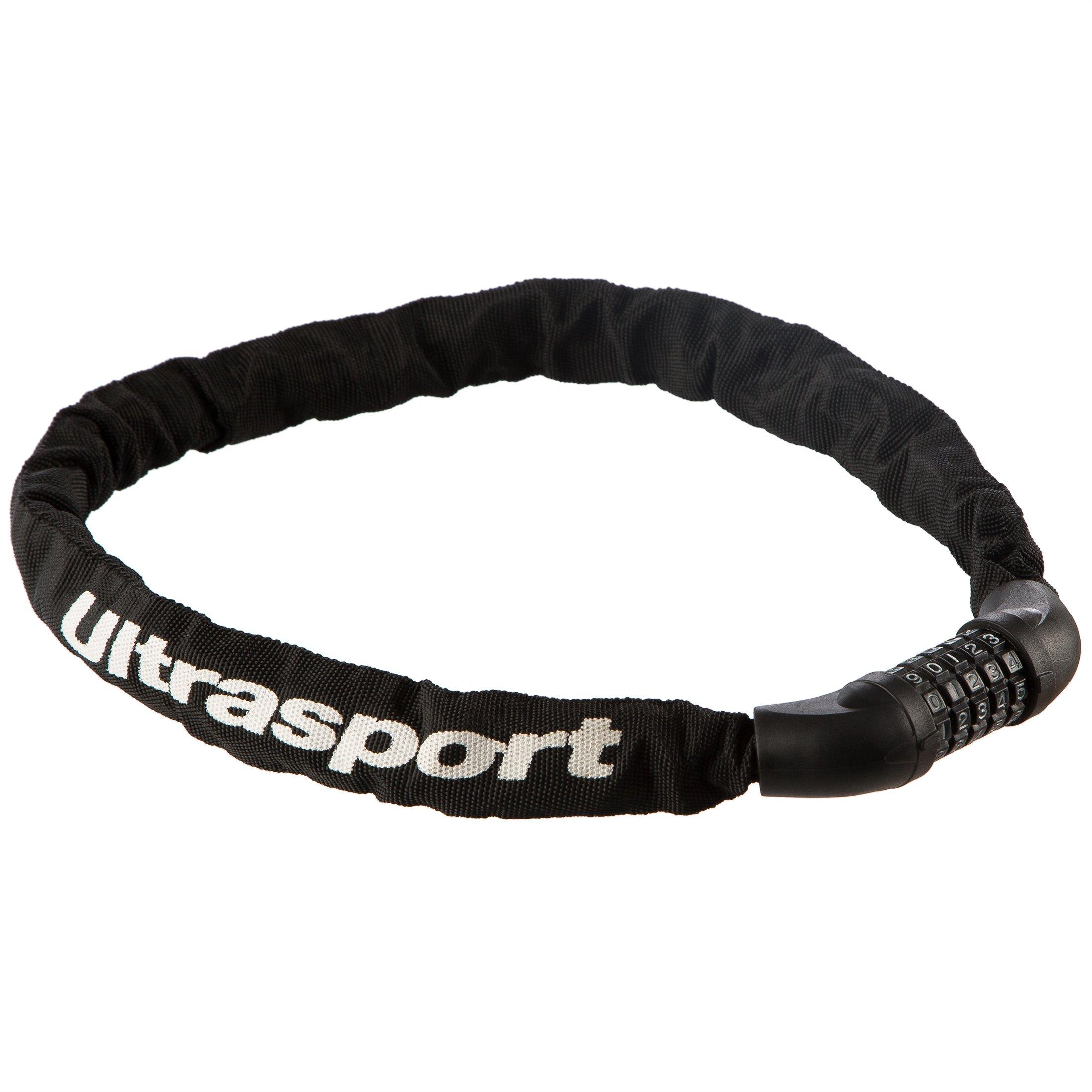 Ultrasport Cadenas à chiffres et chaîne antivol pour vélo, 90cm product image