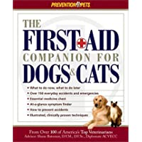 Image for The First-Aid Companion for Dogs & Cats (Prevention Pets)