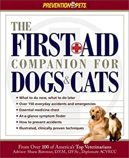 Pet first aid cats dogs american red cross 9781578570003 the first aid companion for dogs cats prevention pets fandeluxe Gallery