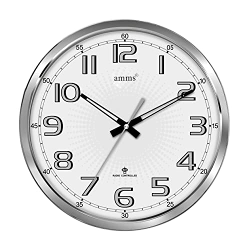 Acctim 74172 Controller Radio Controlled Wall Clock White