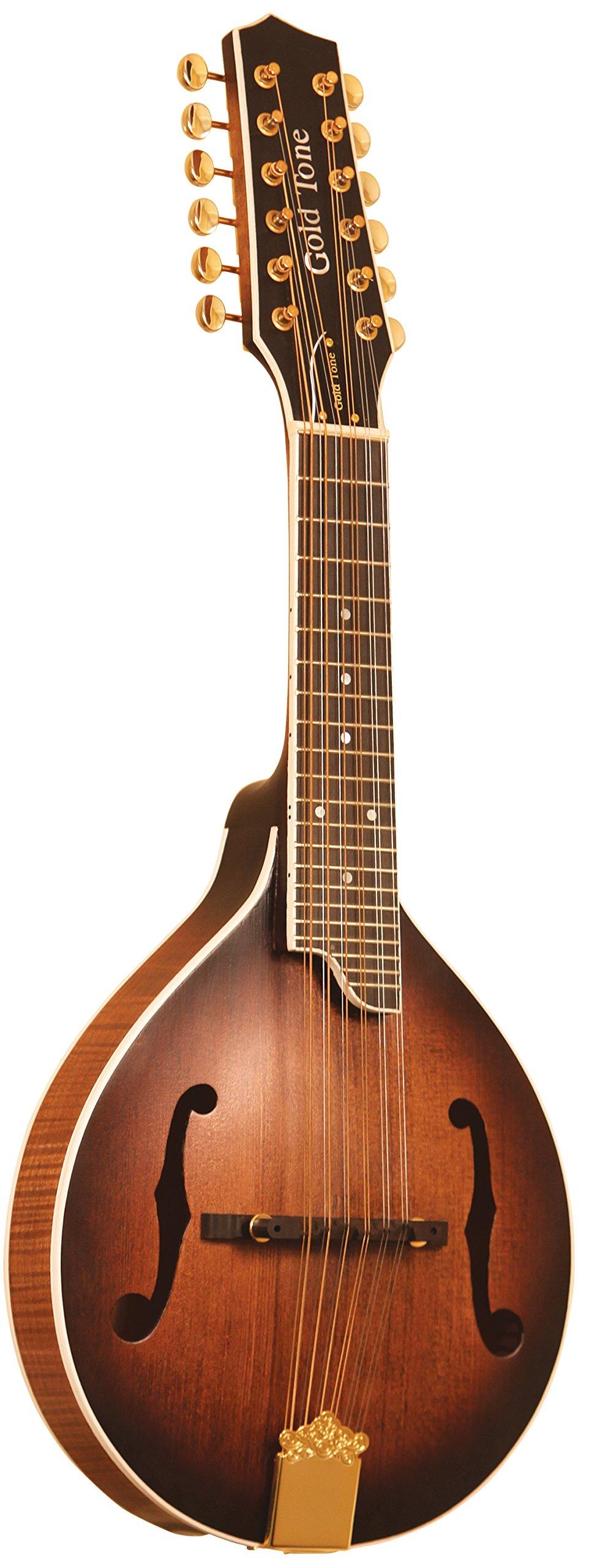 Gold Tone GM-12+ 12-String Guitar Mandolin with Pickup