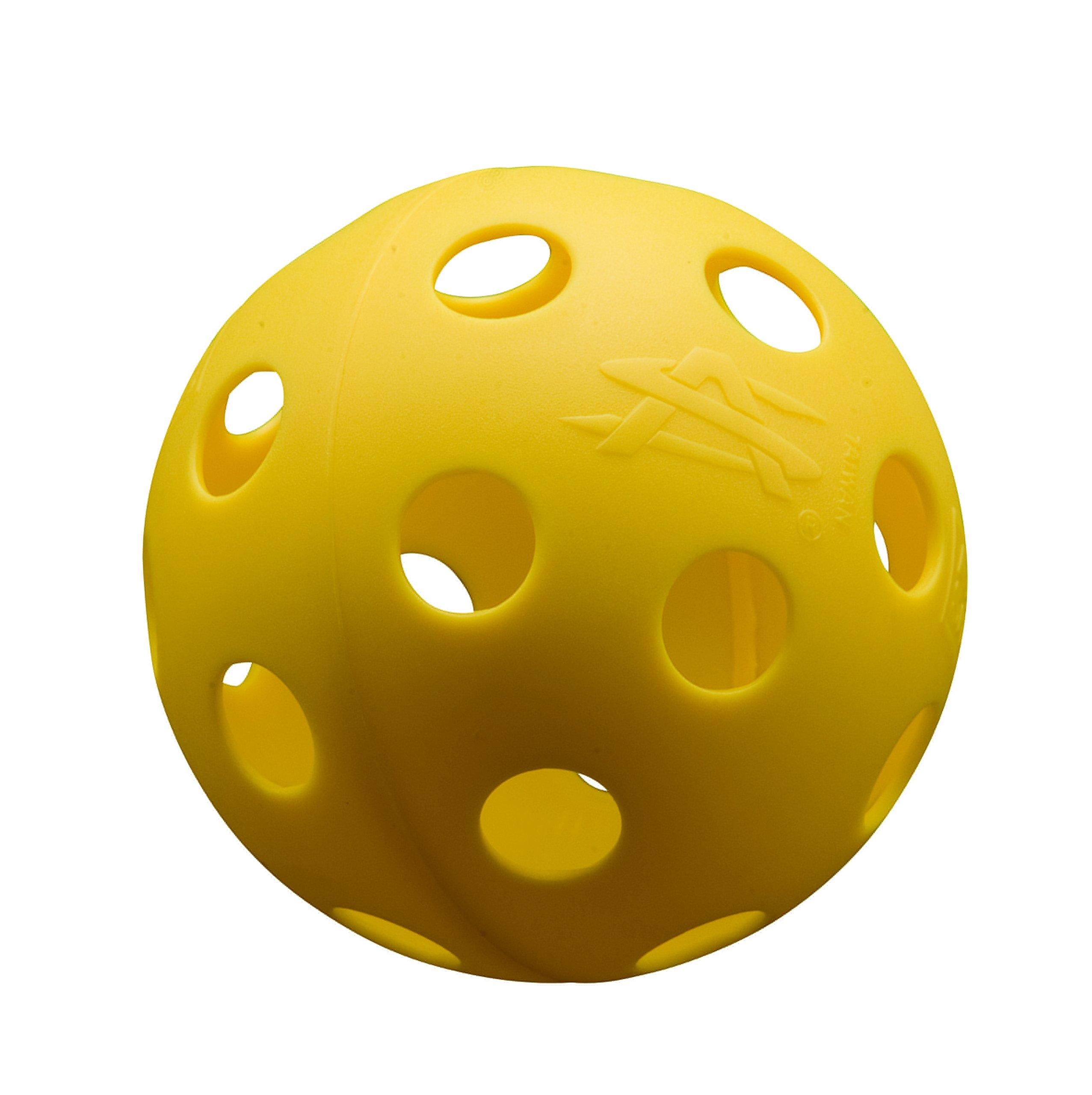 Athletic Specialties Perforated Baseballs Box of 100 Yellow by Athletic Specialties